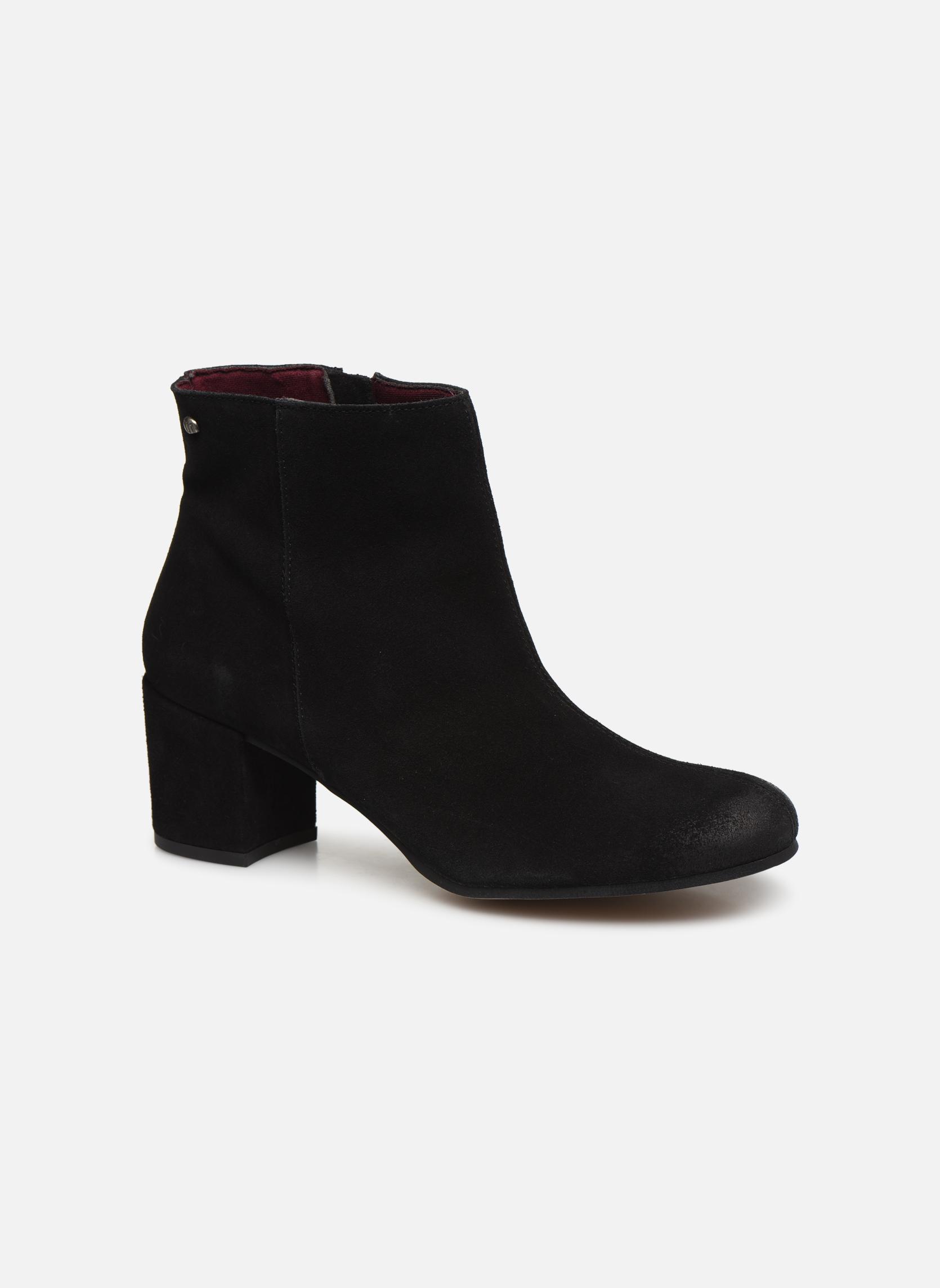 Bottines et boots MTNG Blanchia Noir vue détail/paire