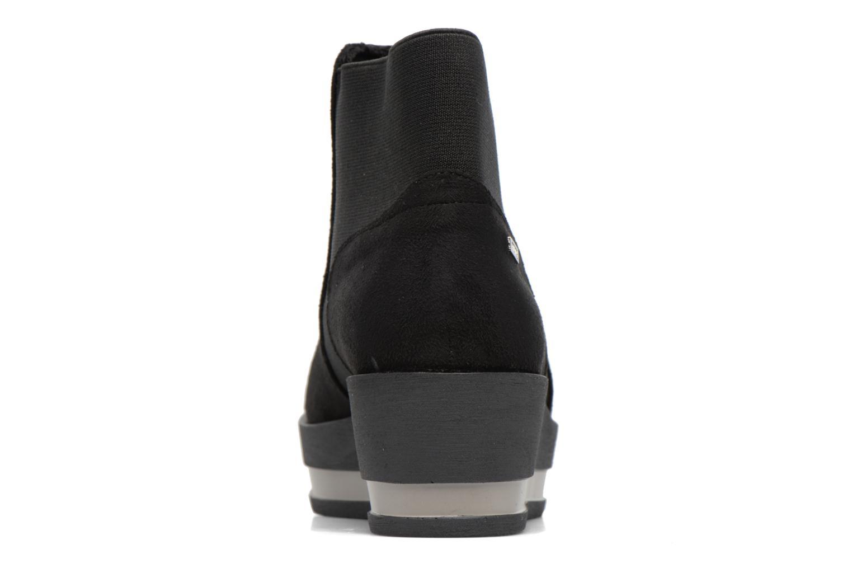 Bottines et boots MTNG Mariana Noir vue droite