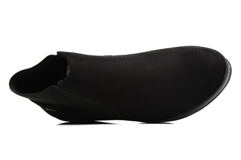 Bottines et boots MTNG Mariana Noir vue gauche