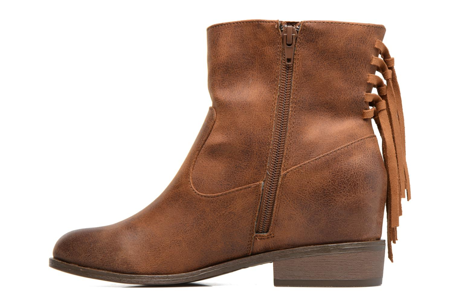 Ankle boots MTNG Frangia Brown front view