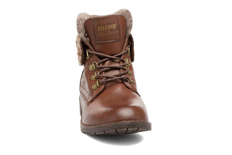 Bottines et boots MTNG Camillia Marron vue portées chaussures