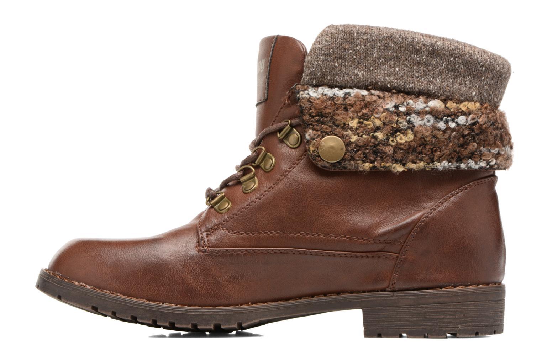 Bottines et boots MTNG Camillia Marron vue face