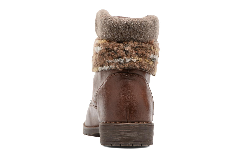 Bottines et boots MTNG Camillia Marron vue droite
