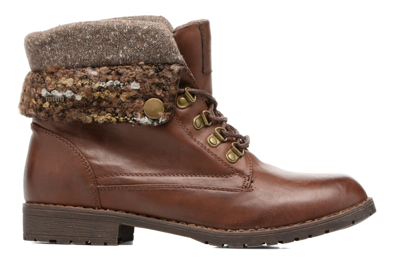 Bottines et boots MTNG Camillia Marron vue derrière