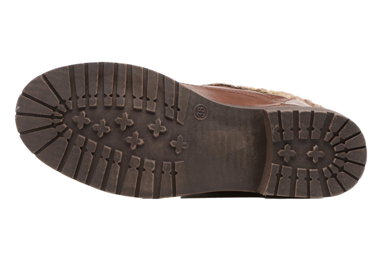 Bottines et boots MTNG Camillia Marron vue haut