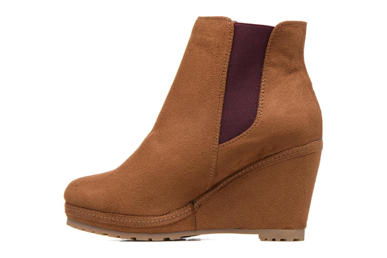 Bottines et boots MTNG Aliciana Marron vue face