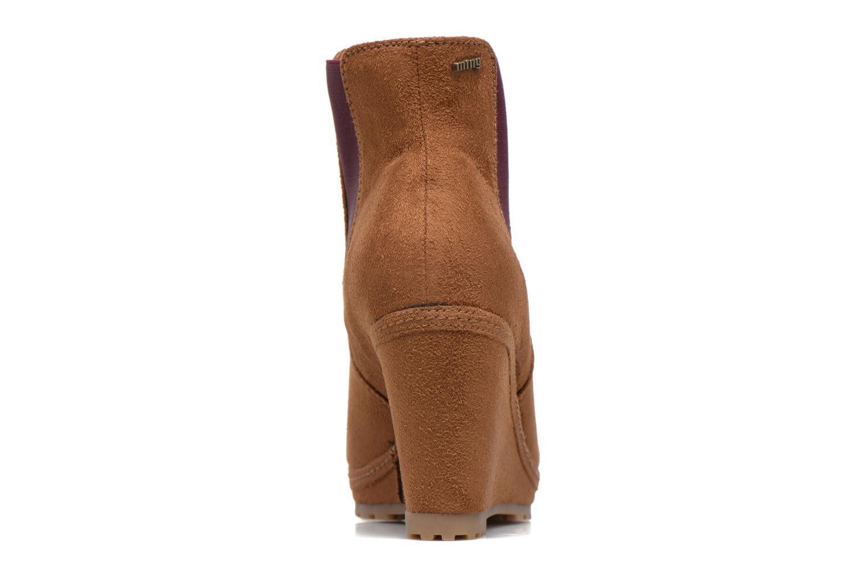 Bottines et boots MTNG Aliciana Marron vue droite