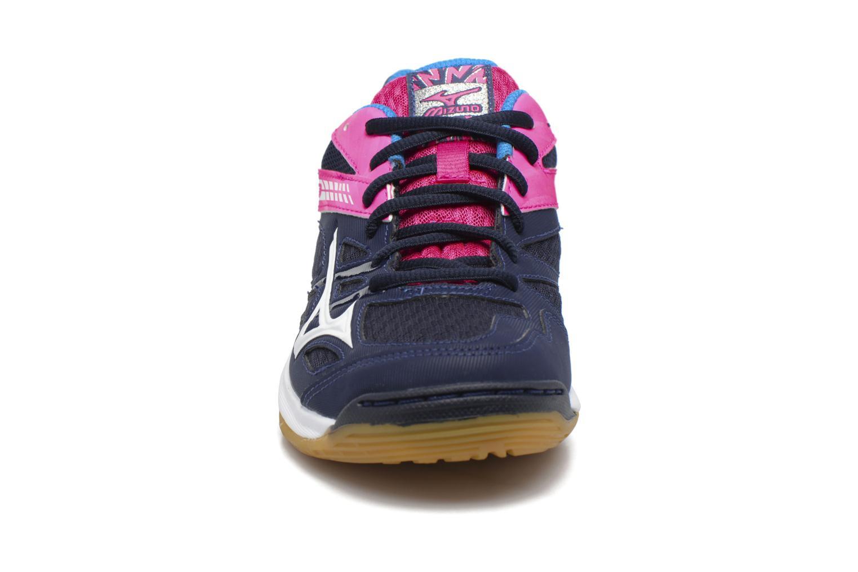 Zapatillas de deporte Mizuno THUNDER BLADE Azul vista del modelo