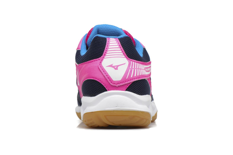 Zapatillas de deporte Mizuno THUNDER BLADE Azul vista lateral derecha
