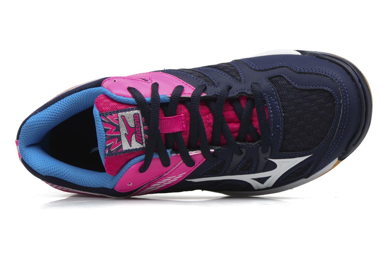 Zapatillas de deporte Mizuno THUNDER BLADE Azul vista lateral izquierda