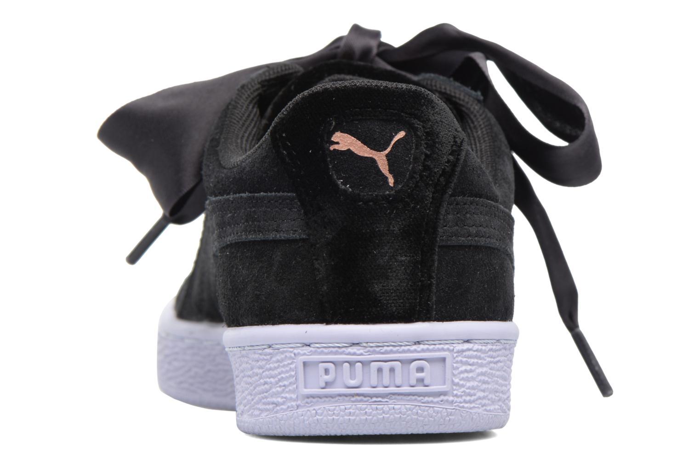 Baskets Puma Wns Suede heart Vr Noir vue droite