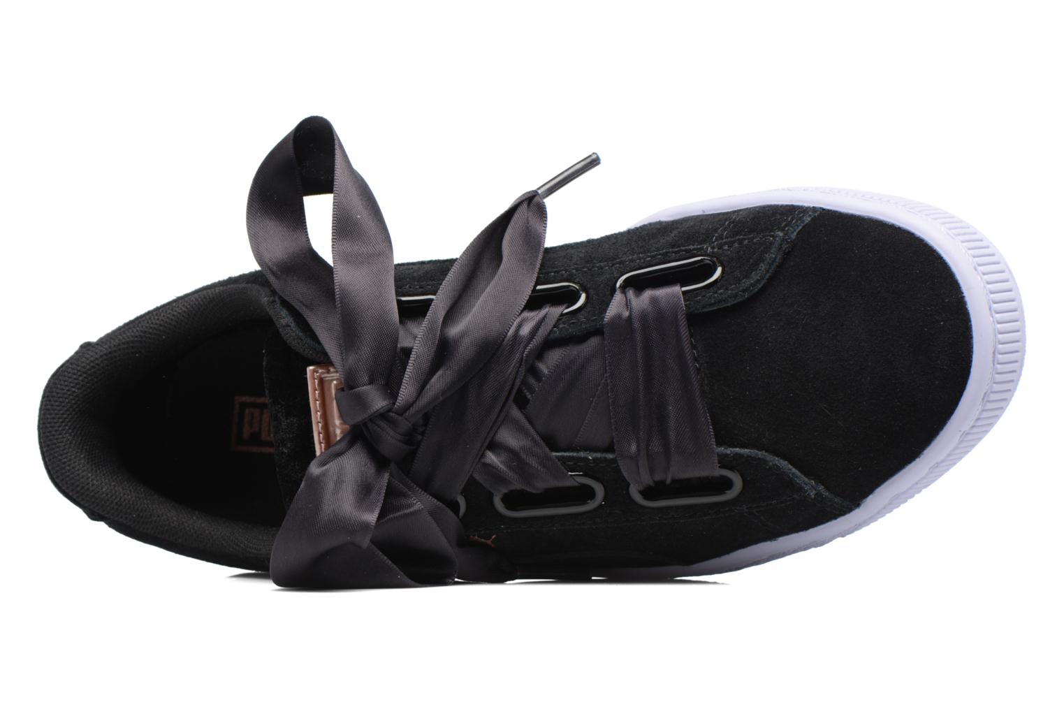 Wns Suede heart Vr Black
