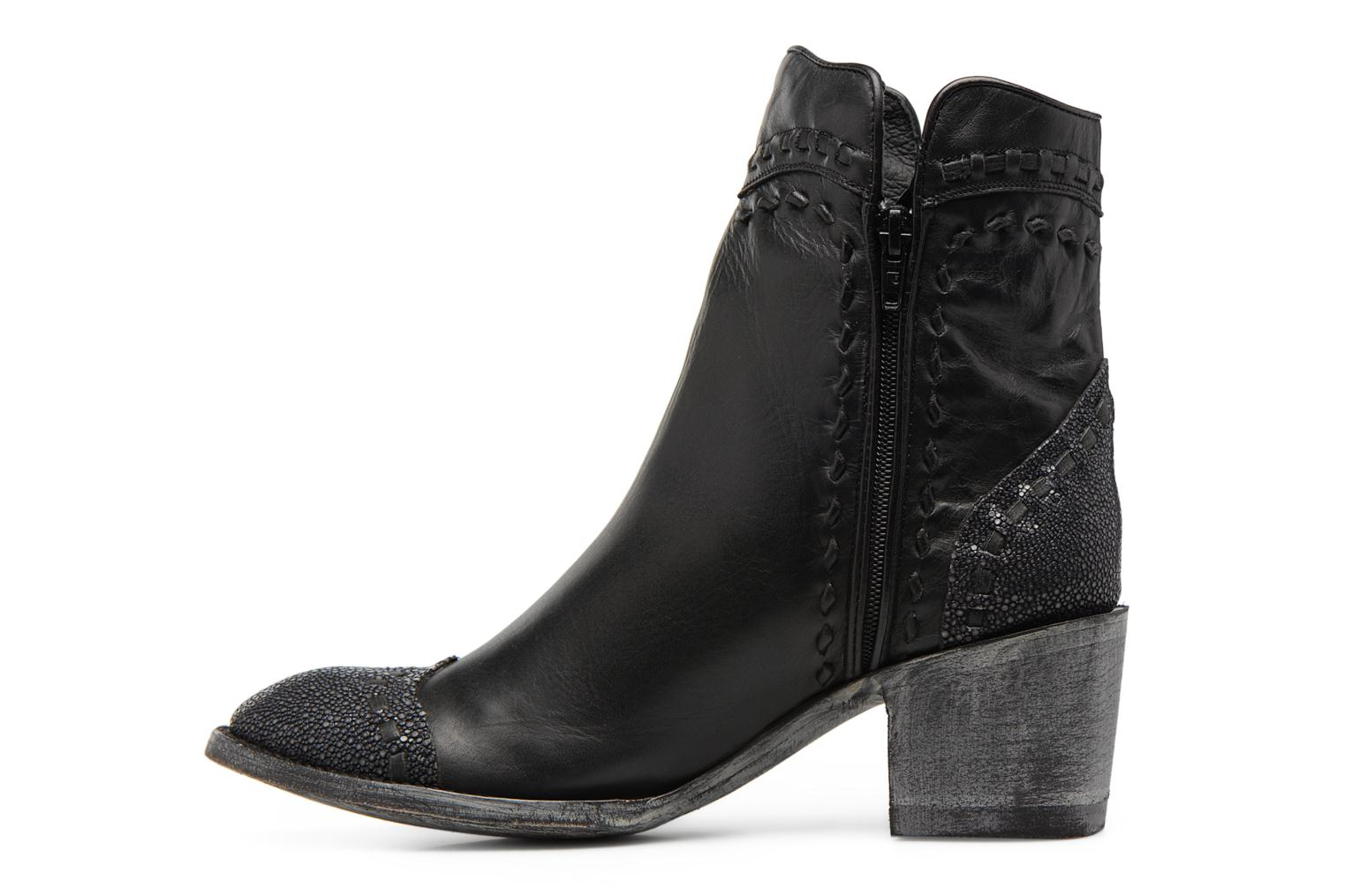 Bottines et boots Mexicana Crithier toe 3 Noir vue face