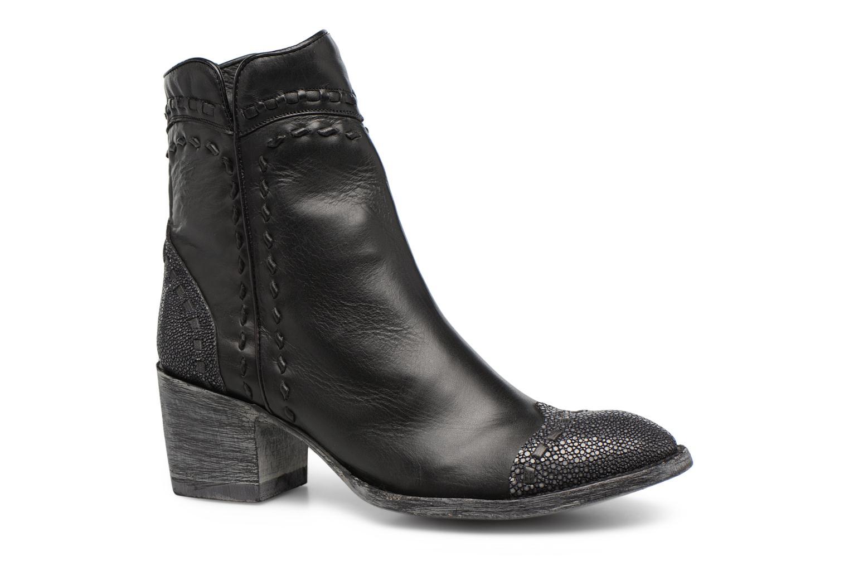 Bottes À Lacets. N ° 689 Passion Chaussure Noire Rbugqg