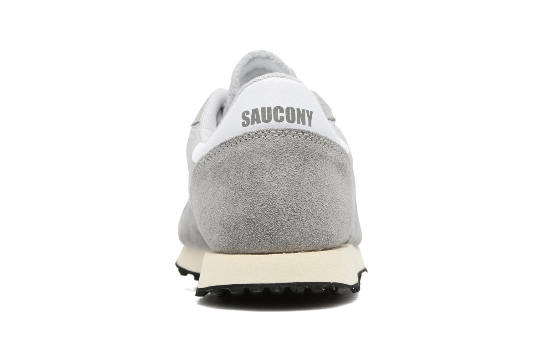 Baskets Saucony Dxn trainer Vintage Gris vue droite