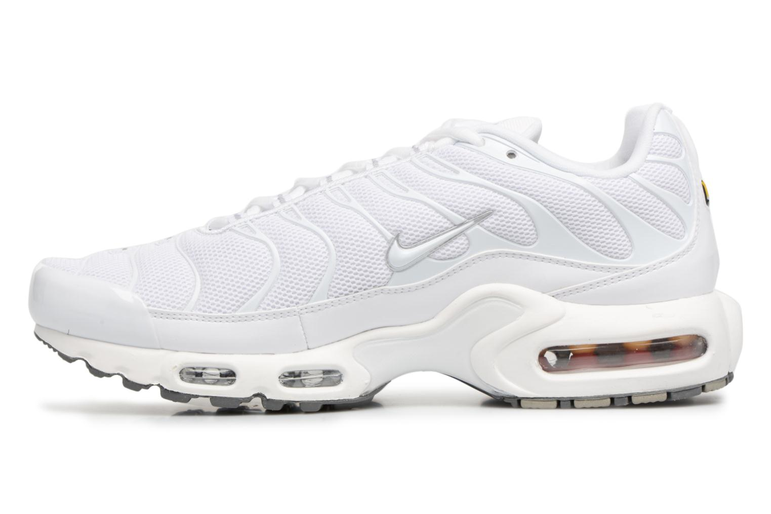 Baskets Nike Air Max Plus Blanc vue face