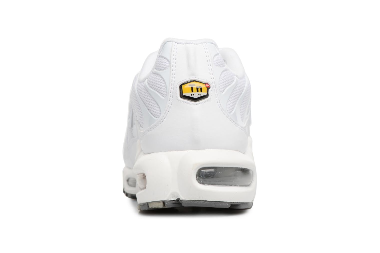 Sneaker Nike Air Max Plus weiß ansicht von rechts