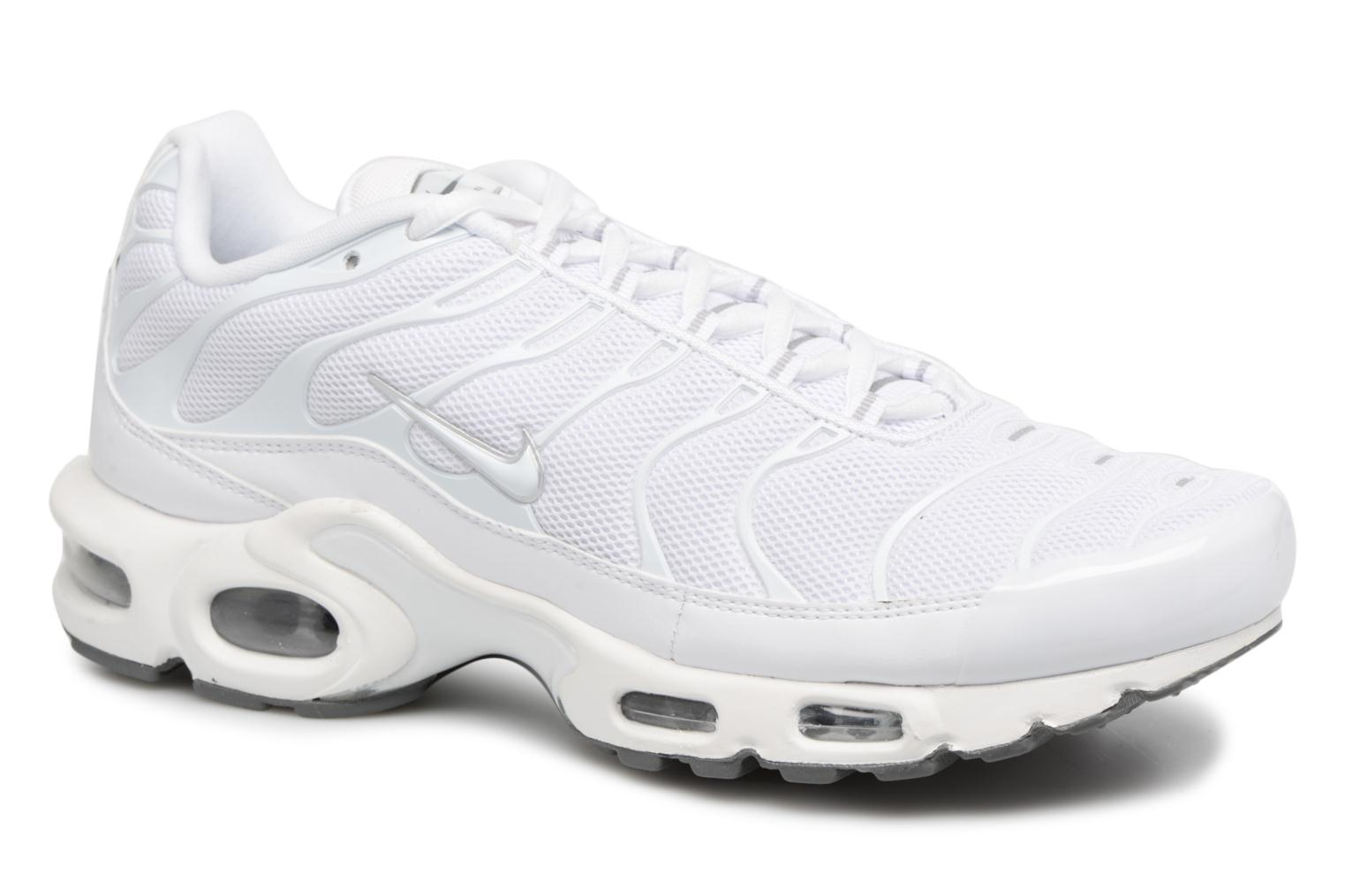 Baskets Nike Air Max Plus Blanc vue détail/paire
