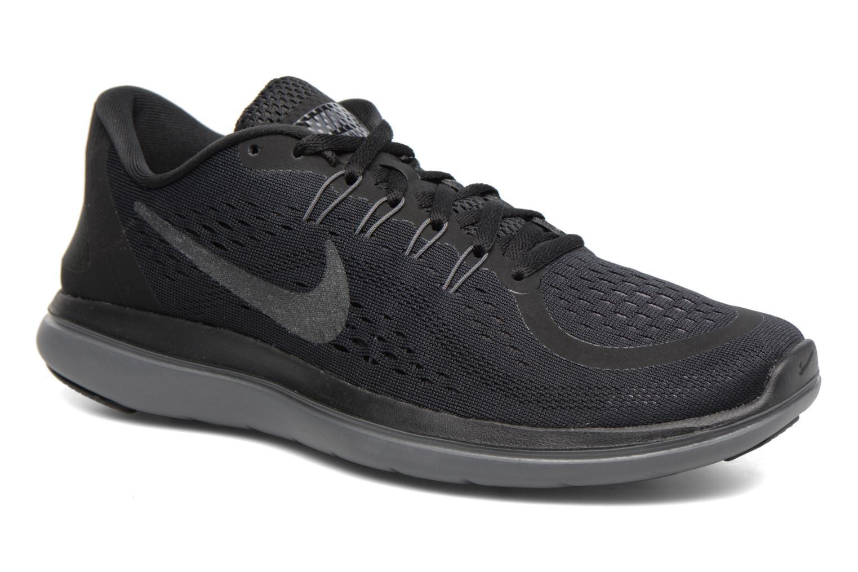 Sport shoes Nike Nike Flex 2017 Rn Black detailed view/ Pair view