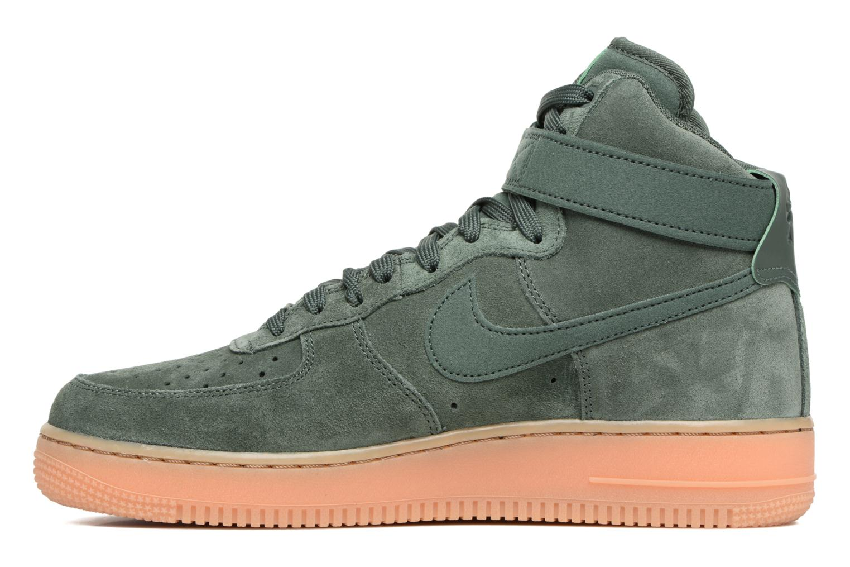 Baskets Nike Air Force 1 High '07 Lv8 Suede Vert vue face