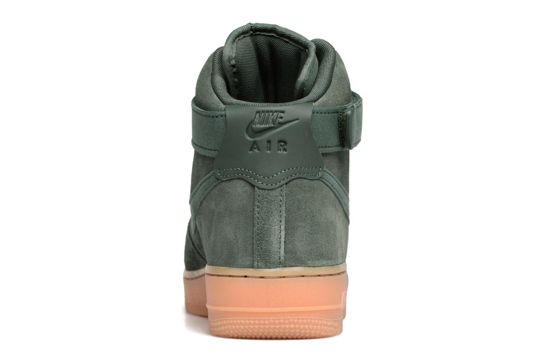 Baskets Nike Air Force 1 High '07 Lv8 Suede Vert vue droite