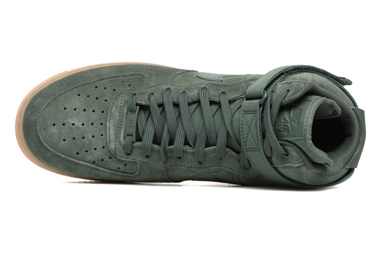 Baskets Nike Air Force 1 High '07 Lv8 Suede Vert vue gauche