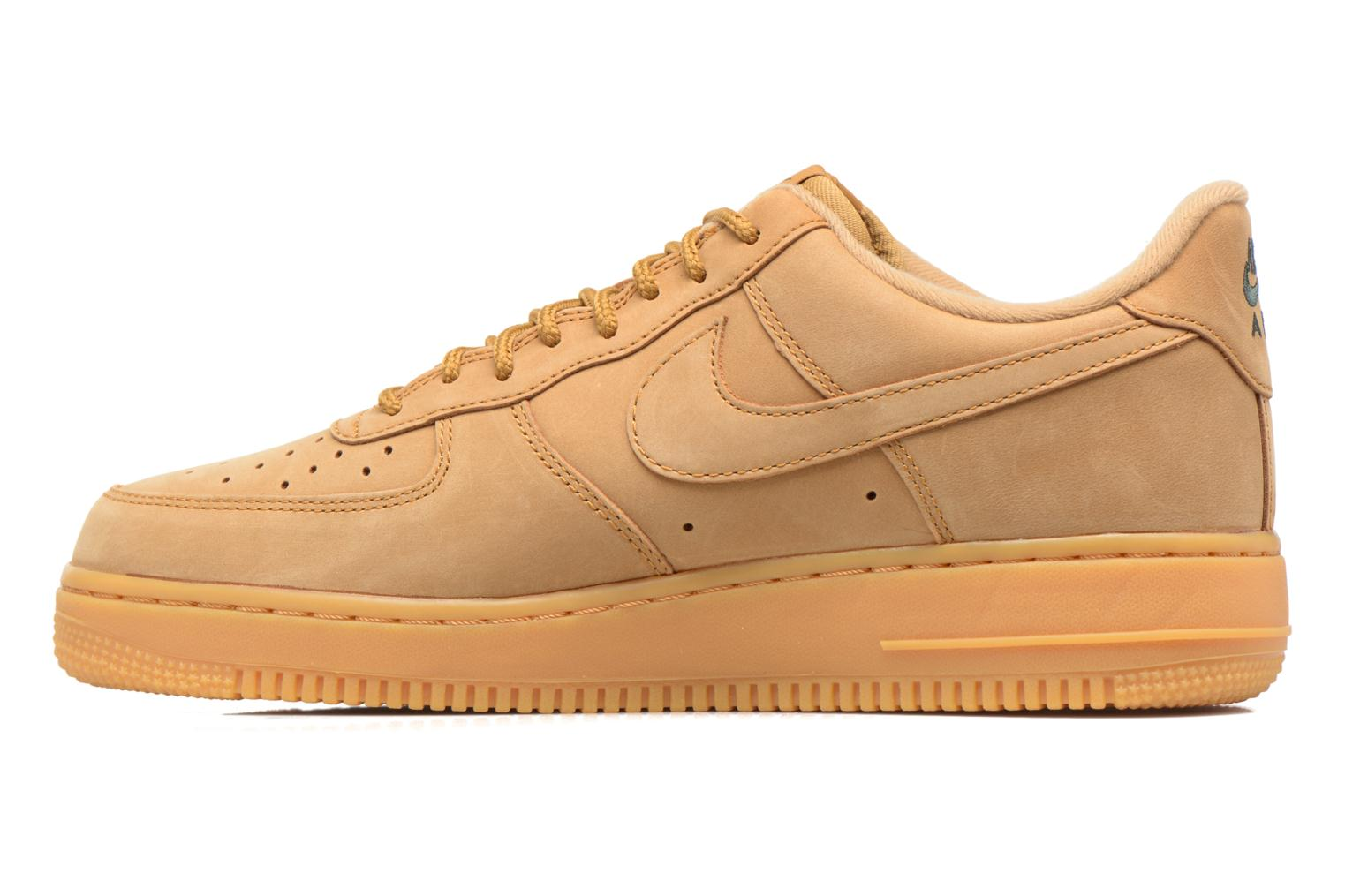 Trainers Nike Air Force 1 '07 Wb Brown front view