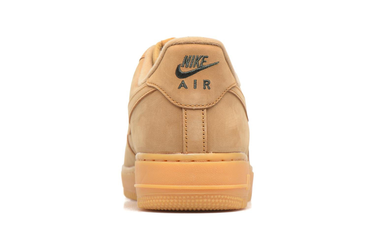 Trainers Nike Air Force 1 '07 Wb Brown view from the right