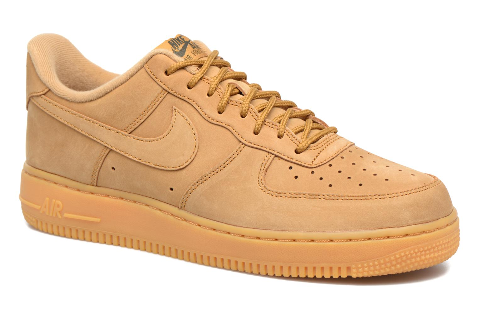 Trainers Nike Air Force 1 '07 Wb Brown detailed view/ Pair view