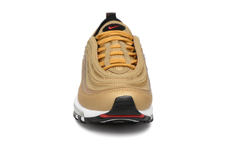 Baskets Nike W Air Max 97 Og Qs Or et bronze vue portées chaussures