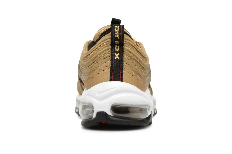 Baskets Nike W Air Max 97 Og Qs Or et bronze vue droite