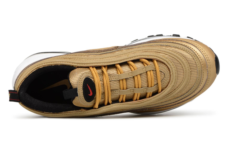 Baskets Nike W Air Max 97 Og Qs Or et bronze vue gauche