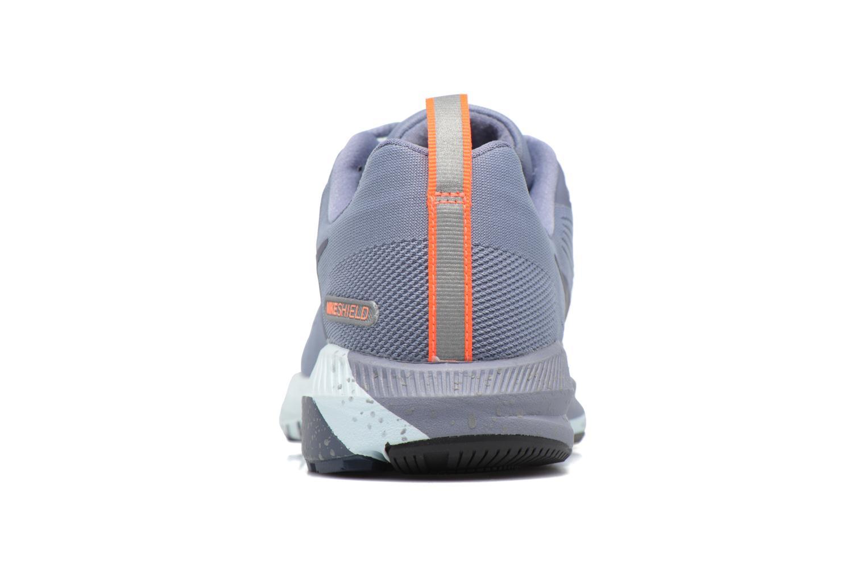 Chaussures de sport Nike W Air Zoom Structure 21 Shield Bleu vue droite