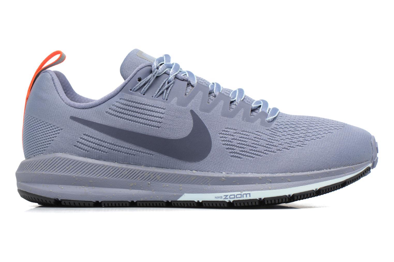 Chaussures de sport Nike W Air Zoom Structure 21 Shield Bleu vue derrière