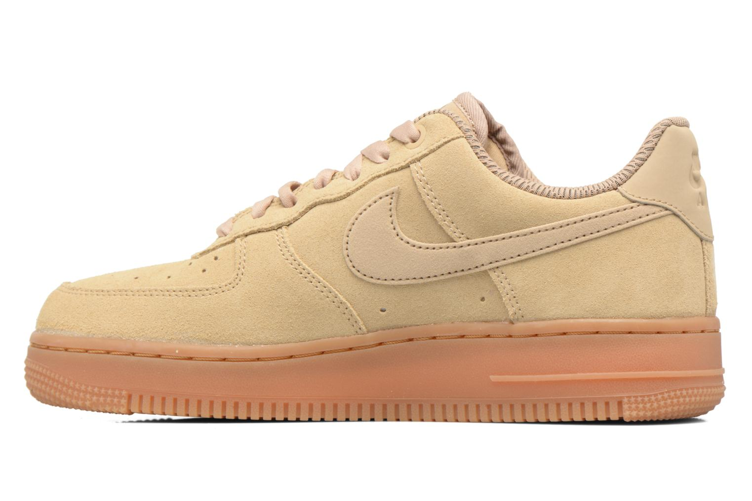 Baskets Nike Wmns Air Force 1 '07 Se Beige vue face
