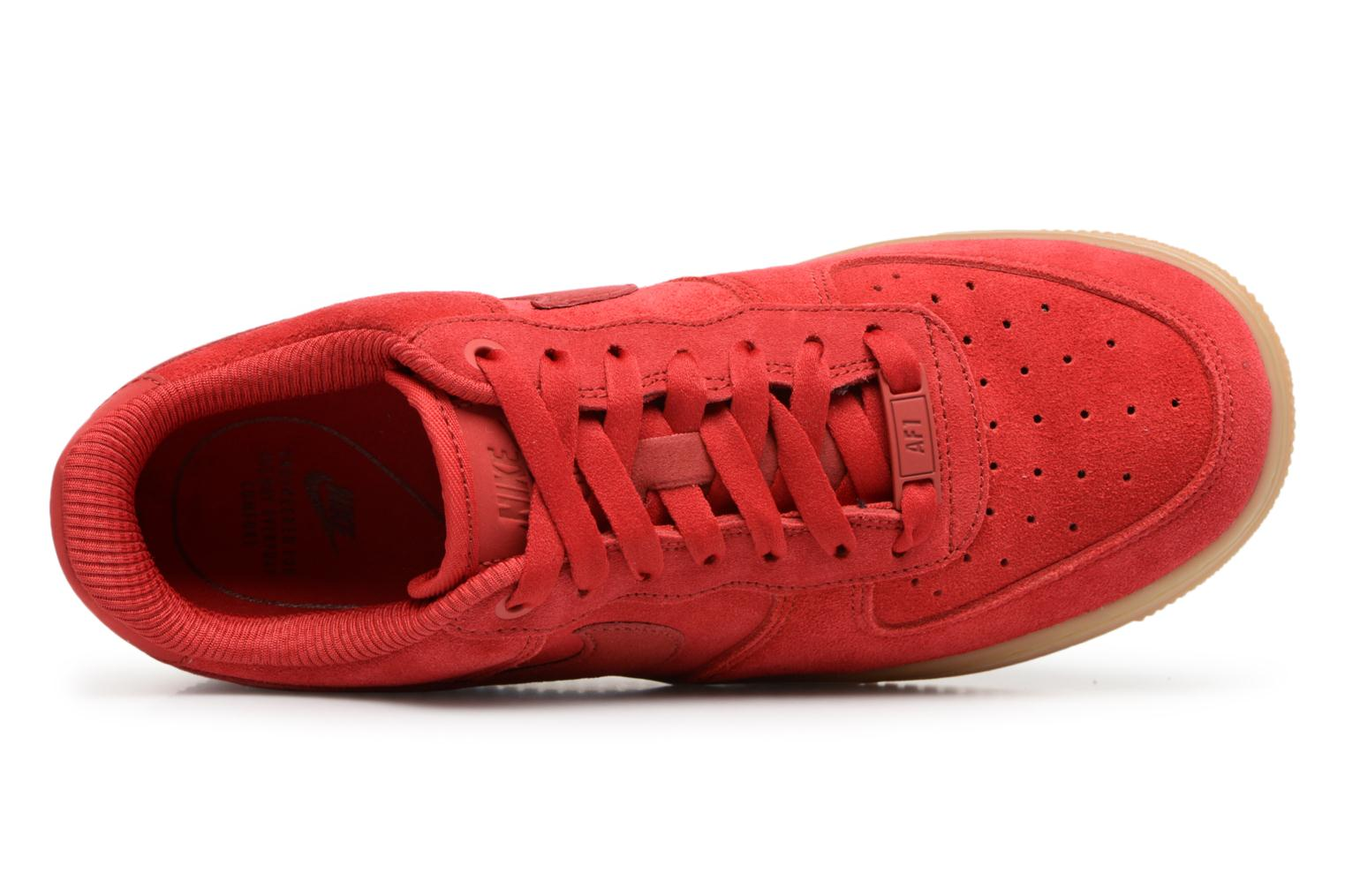Wmns Air Force 1 '07 Se Speed Red/Speed Red-Gum Light Brown