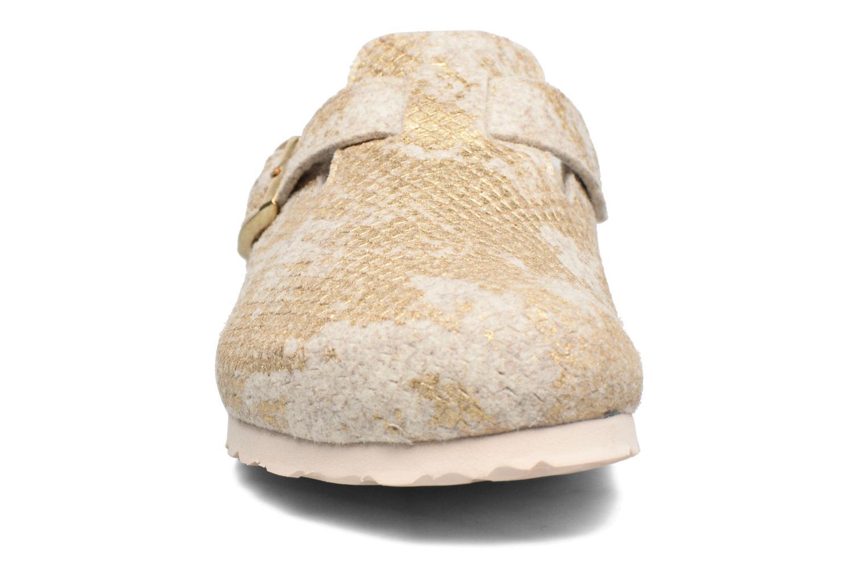 Mules et sabots Papillio Boston Blanc vue portées chaussures