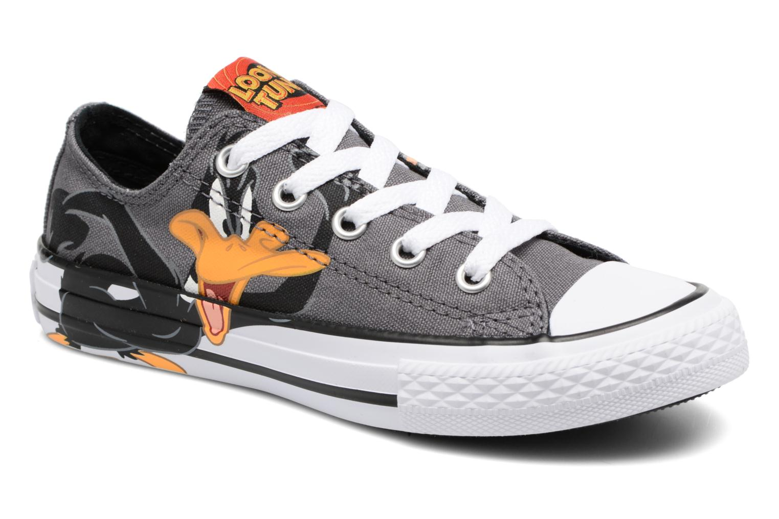 Chuck Taylor All Star Ox Looney Tunes Thunder Black White