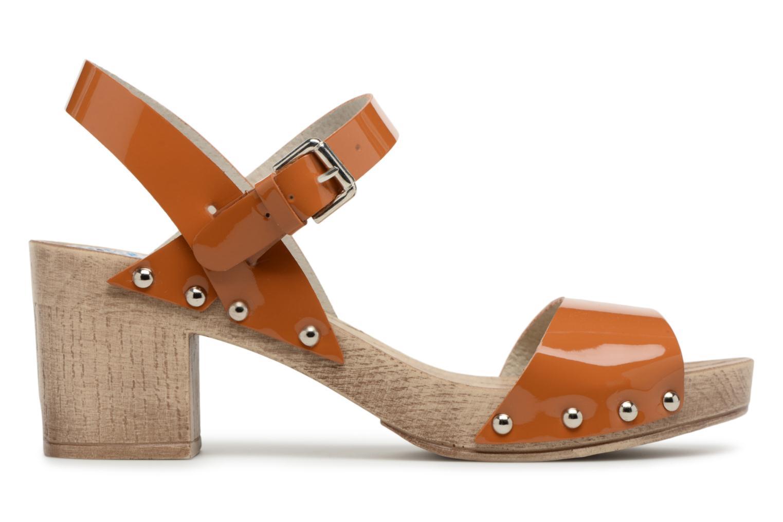Sandals Ippon Vintage Sok colors Brown back view