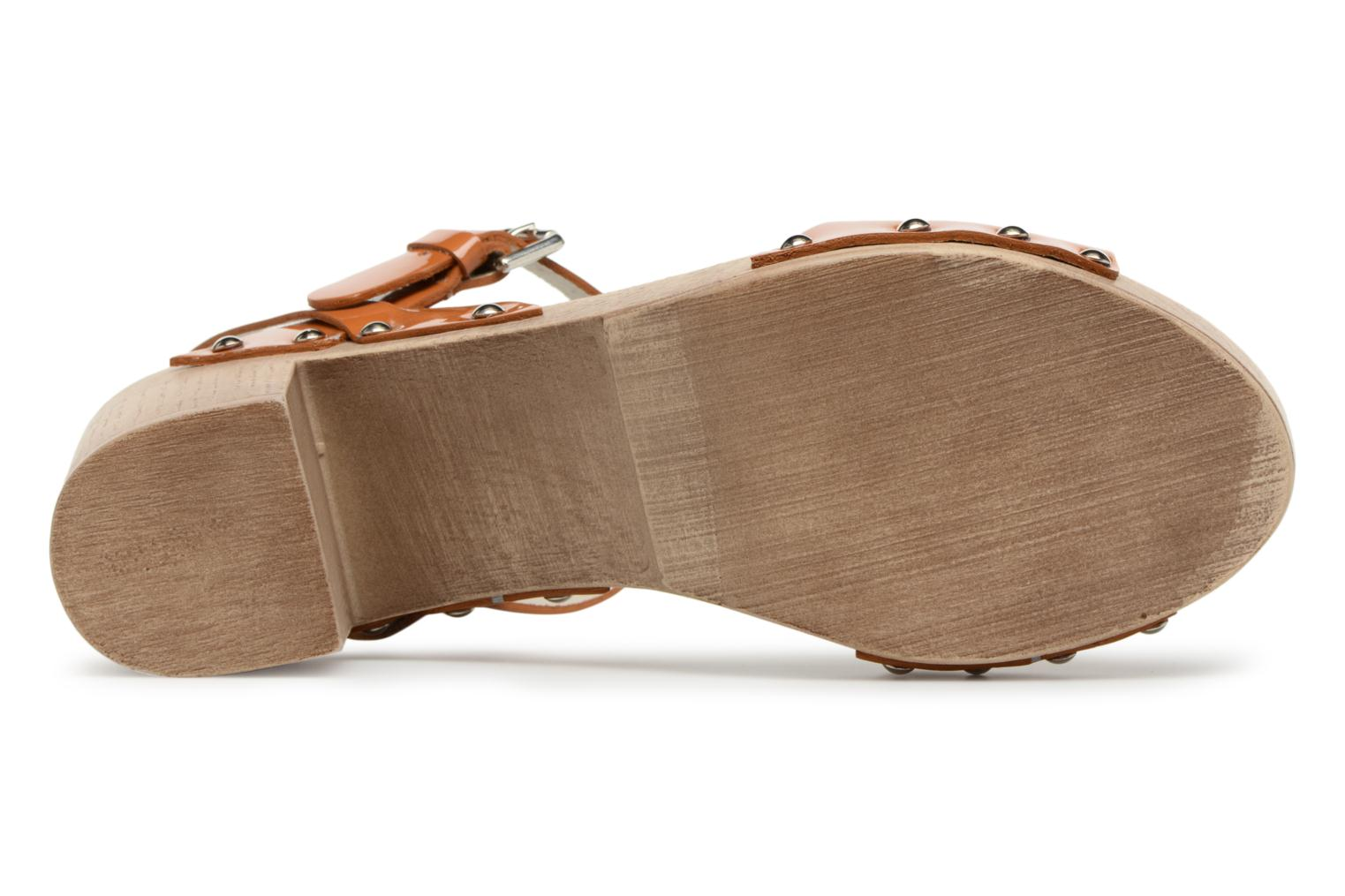 Sandals Ippon Vintage Sok colors Brown view from above