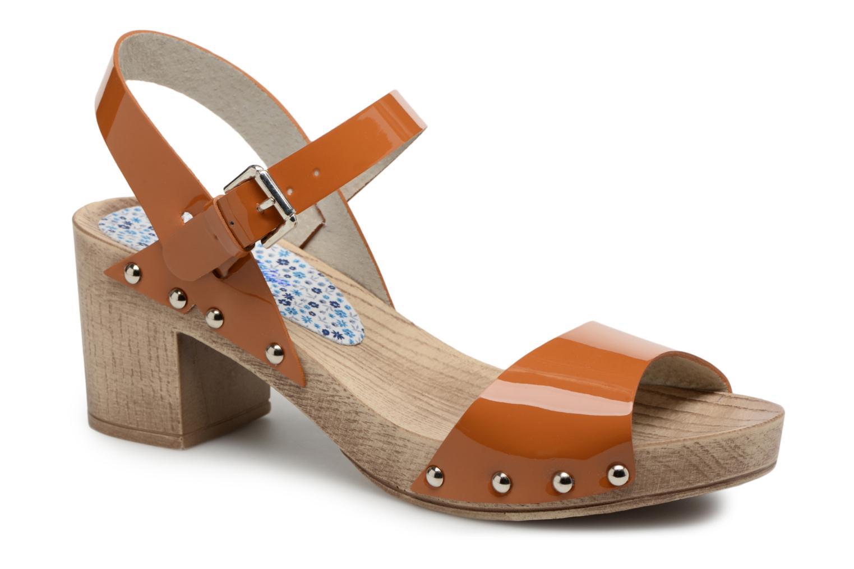 Sandals Ippon Vintage Sok colors Brown detailed view/ Pair view