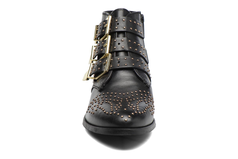 Bottines et boots Bronx Brezax 2 Noir vue portées chaussures