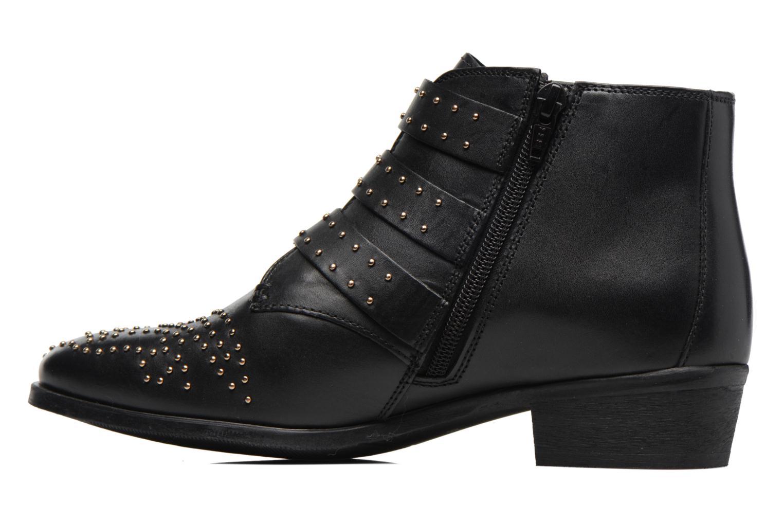 Bottines et boots Bronx Brezax 2 Noir vue face