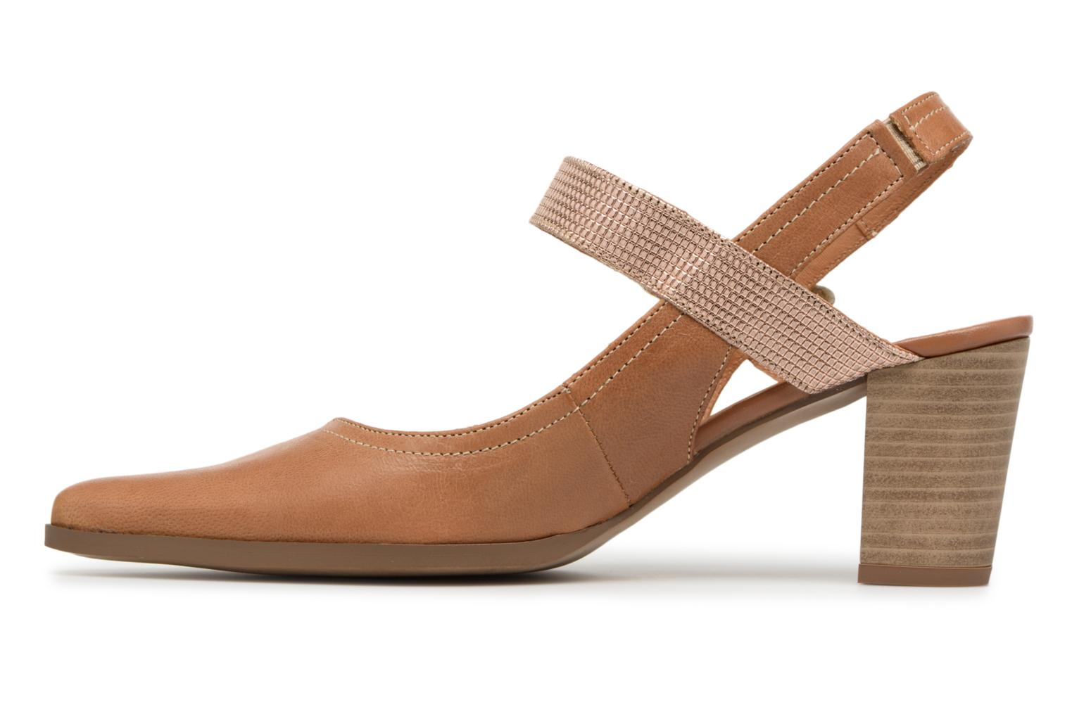High heels Karston Kzoto Brown front view
