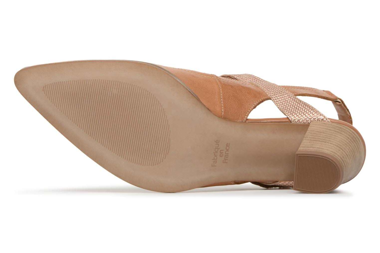 High heels Karston Kzoto Brown view from above
