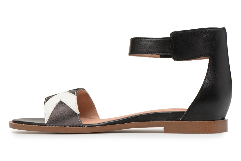 Sandals Karston Sofox Black front view