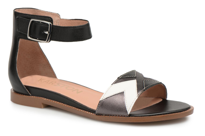 Sandals Karston Sofox Black detailed view/ Pair view