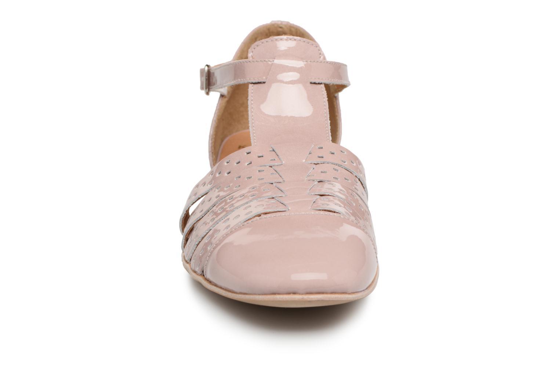 Sandales et nu-pieds Karston Jobano Rose vue portées chaussures