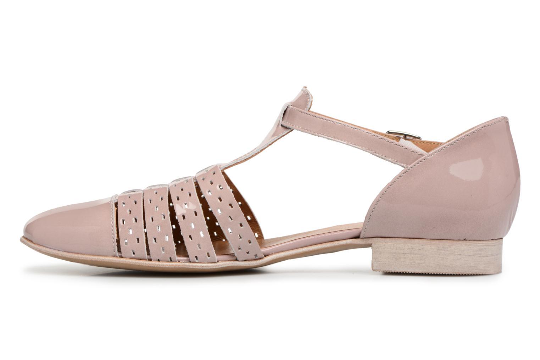 Sandales et nu-pieds Karston Jobano Rose vue face