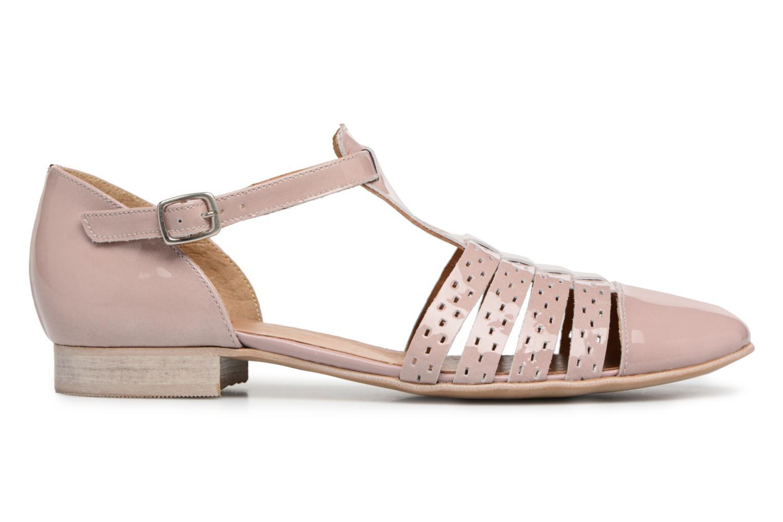 Sandales et nu-pieds Karston Jobano Rose vue derrière